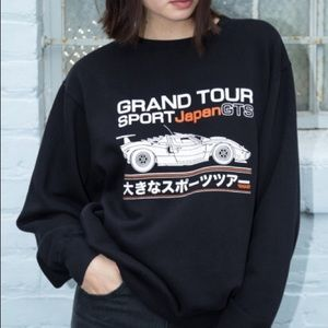 Brandy melville grand tour japan erica sweatshirt